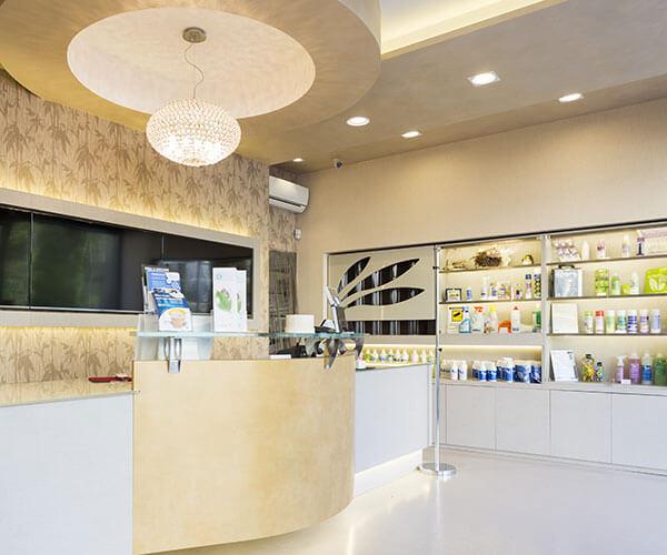 Interni negozio Lavanderia